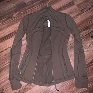Olive Define Lululemon Jacket